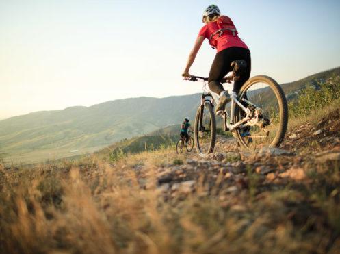 biking mountain